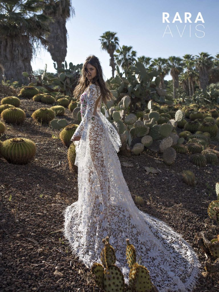 The Klark - floral lace wedding dress from Dell'Amore Bridal's Wild Soul collection