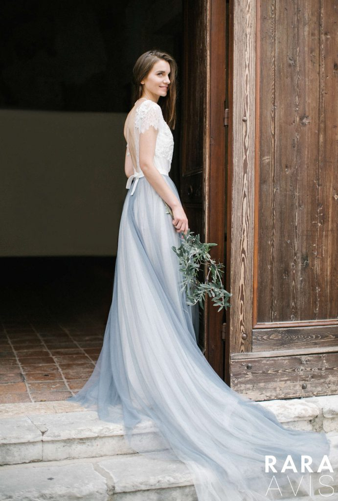 Shein blue wedding dress from Dell'Amore Wedding Bloom Collection