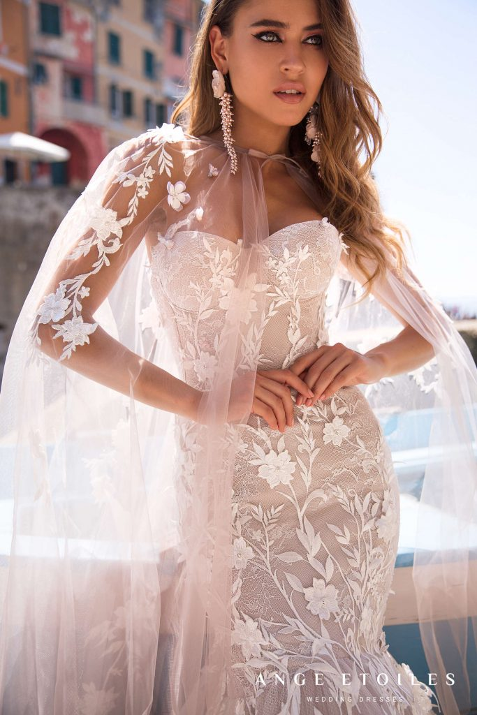 Designer wedding dress Bonita from Ald D'Amore Collection