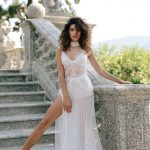 Boudoir dress for bridal morning