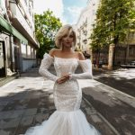 Arlit mermaid wedding dress